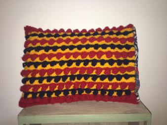 Small handmade cushion. Selling for £10.