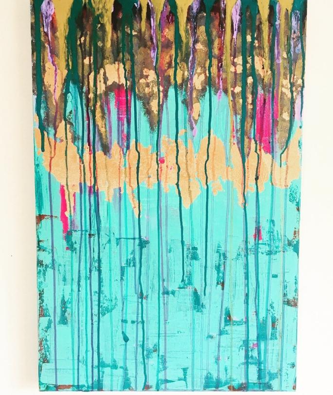 Turquoise Rain
